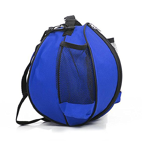 etach outsoor Sport Basketball Fußball Volleyball Training Schultertasche blau