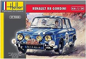 Heller 80700 - Maqueta de Renault R8 Gordini, Color Gris