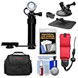 Intova Underwater LED Action Video Light with Camera Bracket Mount with Car Suction