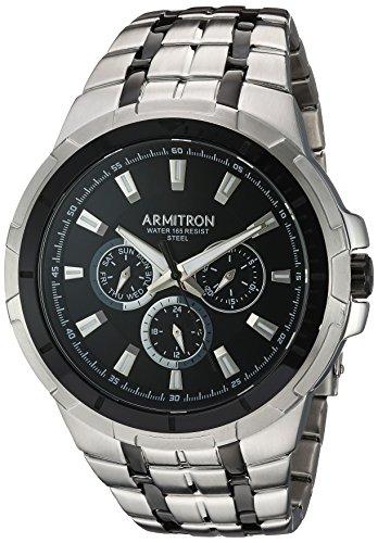 armitron-mens-quartz-stainless-steel-dress-watch-colorsilver-toned-model-20-5144bktb