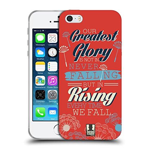 Head Case Designs Aufsteigend Confucius Soft Gel Hülle für Apple iPhone 6 / 6s Aufsteigend