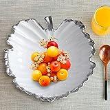 clg-fly Shell creativo tavolino in ceramica ciotole da dessert in casa decorazioni ornamenti portafrutta 27*27cm 2
