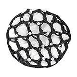 WALDHAUSEN Haarnetz mit Perlen, schwarz