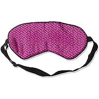 Sleep Eye Mask Pink Skull Lightweight Soft Blindfold Adjustable Head Strap Eyeshade Travel Eyepatch preisvergleich bei billige-tabletten.eu