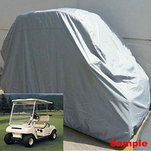 HAHU Waterproof 2/4 Passenger Golfwagen Abdeckung Abdeckplane - Golf Car Cart Cover - Beinhaltet 3 Größen,M