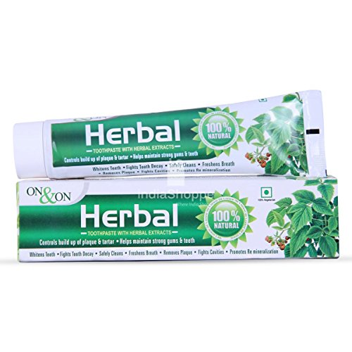 ON & ON Herbal Toothpaste 150gm Pack Of 3