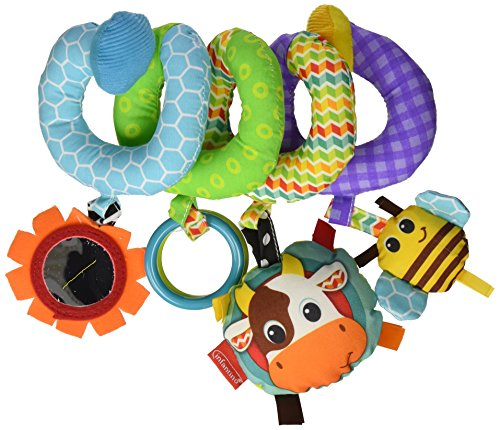 INFANTINO SPIRAL ACTIVITY TOY  BLUE BY INFANTINO