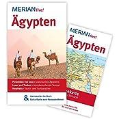 Ägypten: Mit Kartenatlas im Buch und Extra-Karte zum Herausnehmen (MERIAN live)