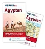 MERIAN live! Reiseführer Ägypten: Mit Kartenatlas im Buch und Extra-Karte zum Herausnehmen - Michel Rauch
