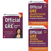 McGraw Hill Education's GRE Prepration Combo (Set of 3 books)
