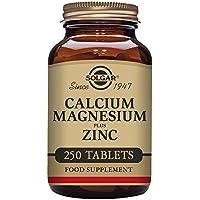 Solgar Calcium Magnesium Plus Zinc Tablets, Pack of 250