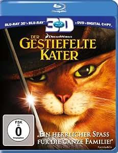 Der Gestiefelte Kater (+ Blu-ray + DVD + Digital Copy) [Blu-ray 3D]