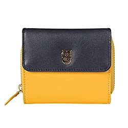 Butterfly Effect Square Wallet - Navy Blue