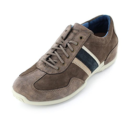 Camel Active Space 27, Sneakers Basses Homme Marron (Brown/Peat Kombi 02)