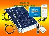 200Watt Wohnmobil Camping Solaranlage mit Victron Smartsolar MPPT Laderegler Set