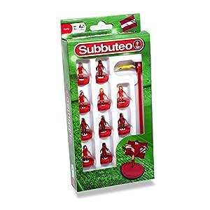 Subbuteo 3435 - Juego de Jugadores, Color Rojo
