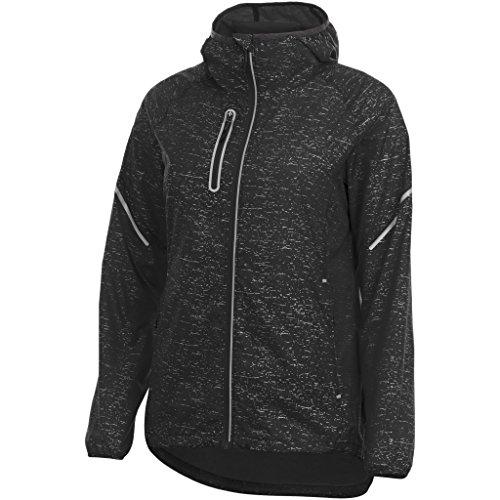 Elevate Damen Signal Reflective packbare Jacke (M) (Schwarz)