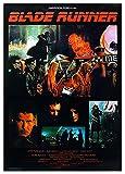 Close Up Blade Runner Poster (64cm x 90cm) + 1 Traumstrand Poster Insel Bora Bora zusätzlich