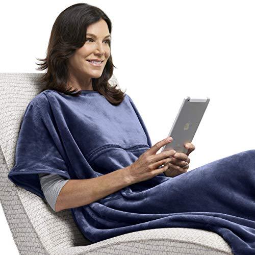 Travelrest 4-in-1 Kuscheldecke & Reisekissen aus hochwertiger Microfaser · Innovativ, Patentiert & Gemütlich · Reisedecke und Wohndecke für die Reise