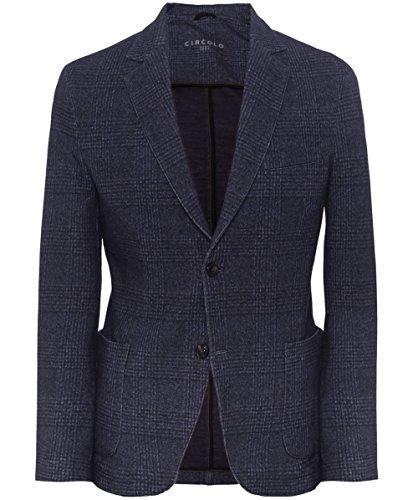 Circolo 1901 Uomo Giacca di Tweed di cotone Blu 54
