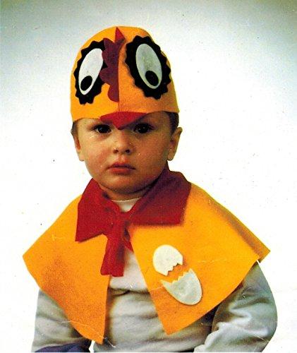ken für Kinder - Cape und Mütze (116) (Dachs Kostüm Kind)