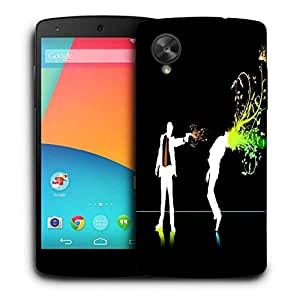 Snoogg Killer Printed Protective Phone Back Case Cover For LG Google Nexus 5
