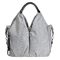 Lassig Green Label Neckline Changing Bag (Black Melange)