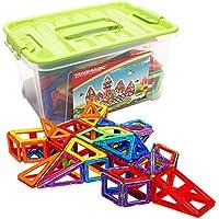Magmagic Building Block giocattoli magnetici,108 pcs Stacking Set Designer Kit