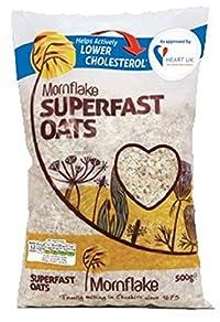 Mornflake Oats - Super Fast Breakfast 500g (Pack of 4)