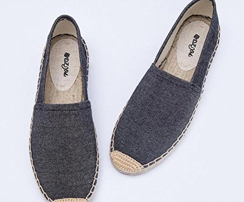 YTTY Solide De De De Toile De Chaussures Tendance À Fond PlatB0736VC4BBParent | La Mise à Jour De Style  64ee70