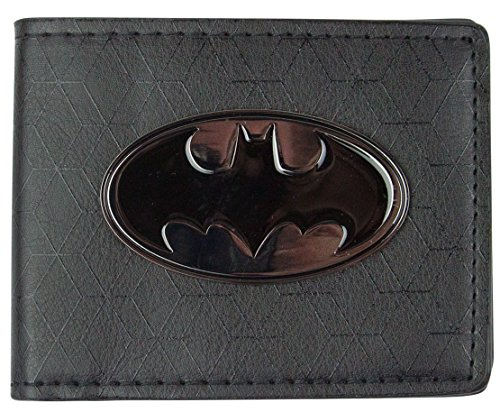 Batman Metallic Crest Wallet (Crest Vanille)