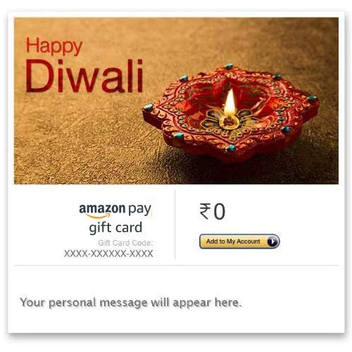 amazon.in - Amazon Pay eGift Card starting at just ₹500