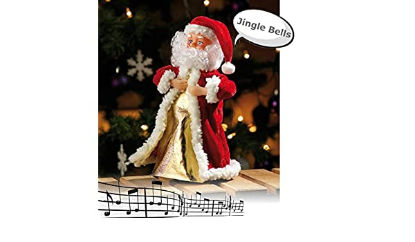 Mostromania Babbo Natale Animato Balla E Cantajingle Bells
