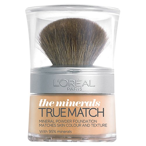 L'Oréal True Match Mineral Powder Foundation - D3.W3 Golden Beige -