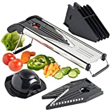 VonShef 'V' Shaped Multi Slicer with 5 Blades inc. Mandoline & Storage Container