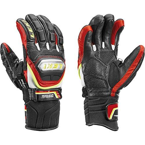 Leki Worldcup Race Ti S Speed Sistema Guantes Negro/Rojo