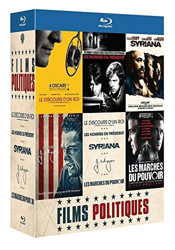Coffret politique - 5 Blu-ray