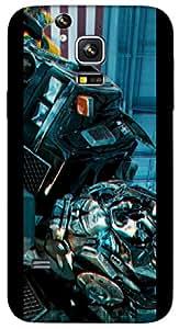 Timpax protective Armor Hard Bumper Back Case Cover. Multicolor printed on 3 Dimensional case with latest & finest graphic design art. Compatible with Samsung Galaxy S-5-Mini Design No : TDZ-24881