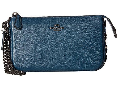Coach Nolita Wristlet Cluch blau 20cm