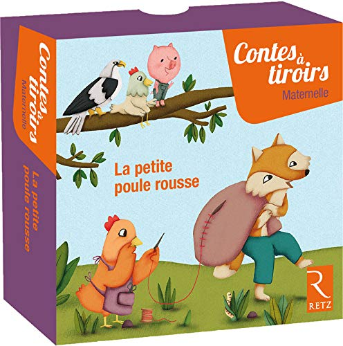La petite poule rousse - Contes à tiroirs