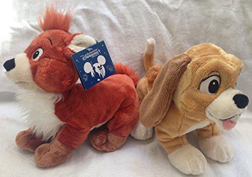 """Preisvergleich Produktbild Authentic Rare Disney-Klassiker Rox und Rouky Rox Rox und Roxy und Roucky 11 """"Plüsch-Puppe-Spielzeug"""