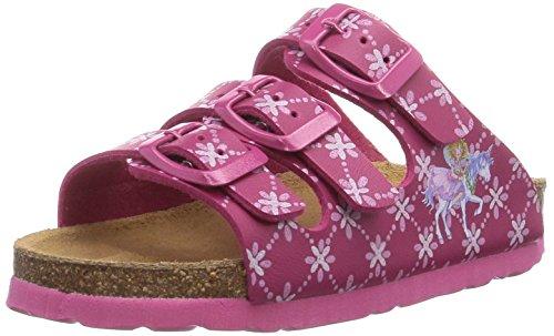Prinzessin Lillifee 500197, Chaussures de Claquettes fille Rose - Rose