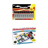 Snap Circuits SC-300 with Energizer Max AA Batteries 16 Pack