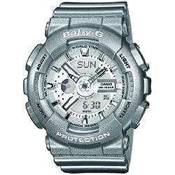 Casio Baby-G - Reloj (Reloj de pulsera, Unisex, Resina, SR726W, 2 Año(s), 4,63 cm)