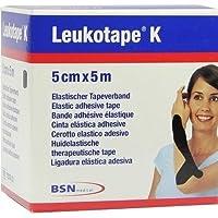 LEUKOTAPE K 5 cm schwarz 1 St Verband preisvergleich bei billige-tabletten.eu