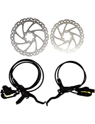Clarks M2 Hydraulic Brake Set, 180mm Front and 160mm Rear