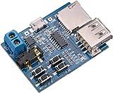 Dosige Mp3 verlustfreie Entschlüsselungskarte mp3-Decoder TF-Karte U Festplatte MP3-Dekodierung Player-Modul kommt mit Endstufe