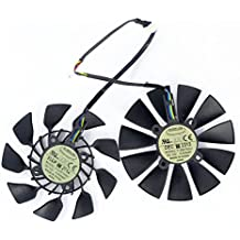 2Pcs/lot T129215SU 12V 0.5A 95mm 5Pin Carte Graphique Fan For ASUS GTX780/780TI R9 280/280X R9 290/290x GTX970 GTX980 Graphics Card Cooling Fan