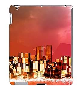 Fuson 3D Printed Pattern Designer Back Case Cover for Apple iPad 2 - D1085
