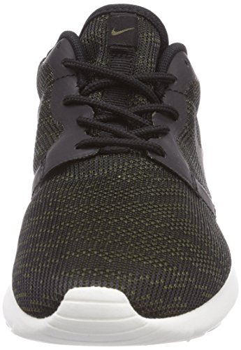 Nike Roshe Run Knit Jacquard, Baskets Basses femme Vert - (Faded Olive/Black-Sail)
